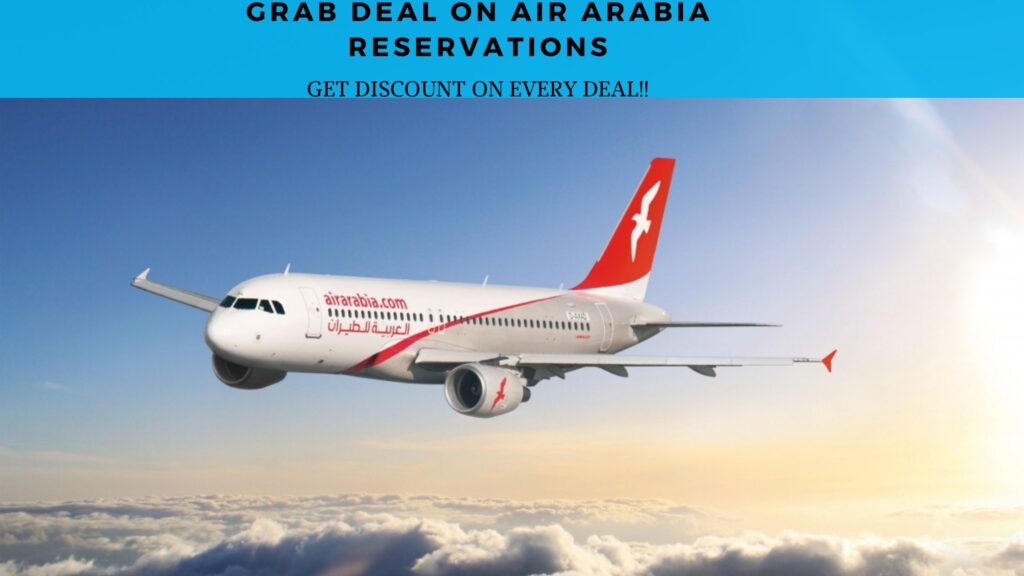 Air Arabia reservations