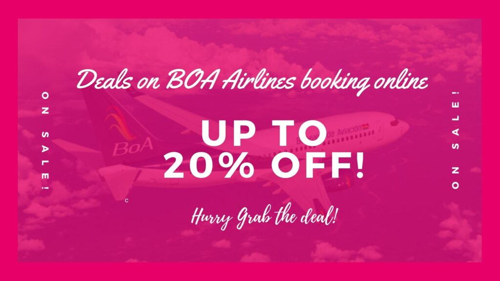 BoA Airlines reservations